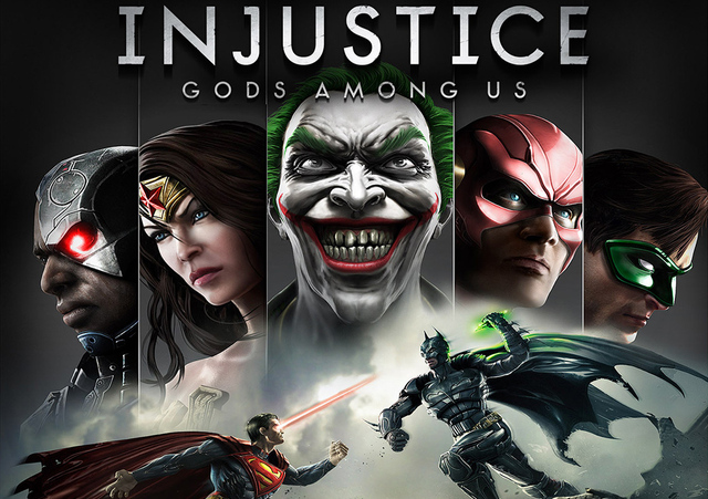 Spoiler alert - Injustice: Gods Among Us is as good as this cover art.