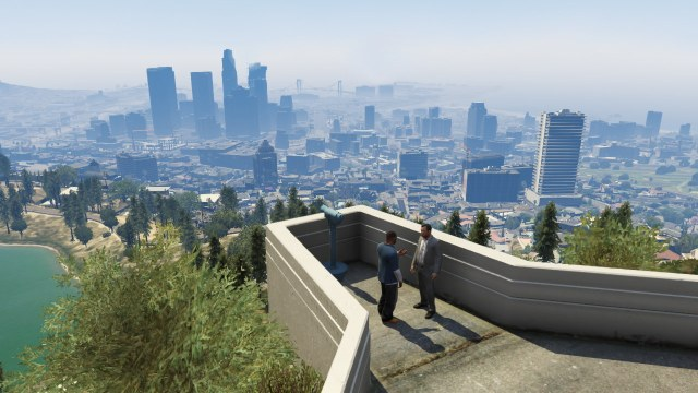 Los Santos: Gripped by terror. Always.