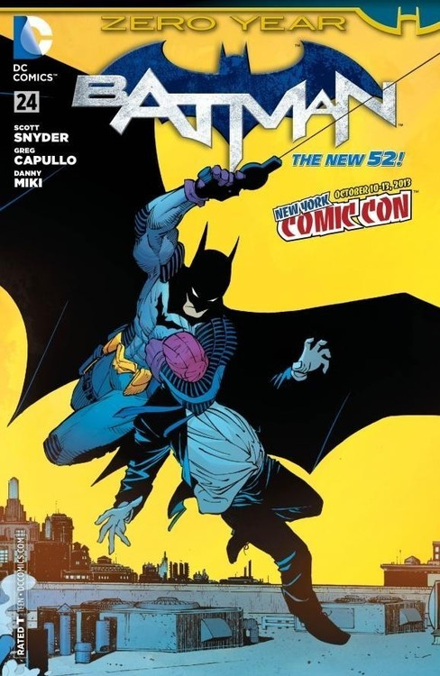 This is what a copy of the NYCC exclusive Batman #24 cover looks like without a signature. I know because I have one.