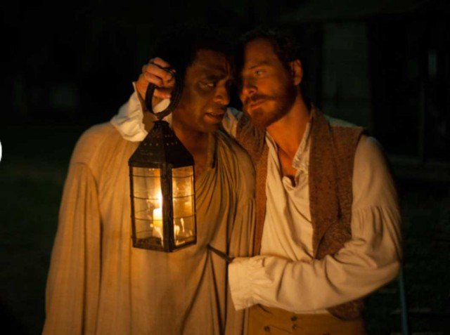 Chiwetel Ejiofor and Michael Fassbender