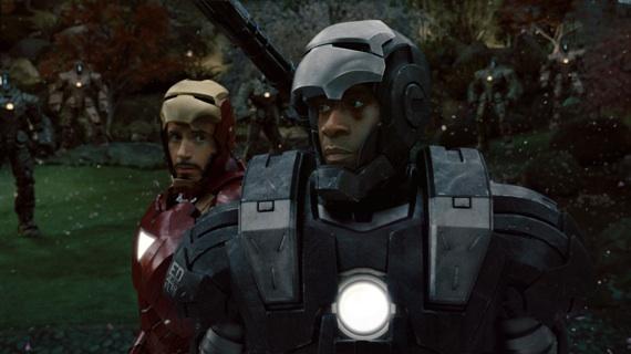 I told you Iron Man 2 wasn't that bad. Remember this? Huh? Pretty awesome, huh?