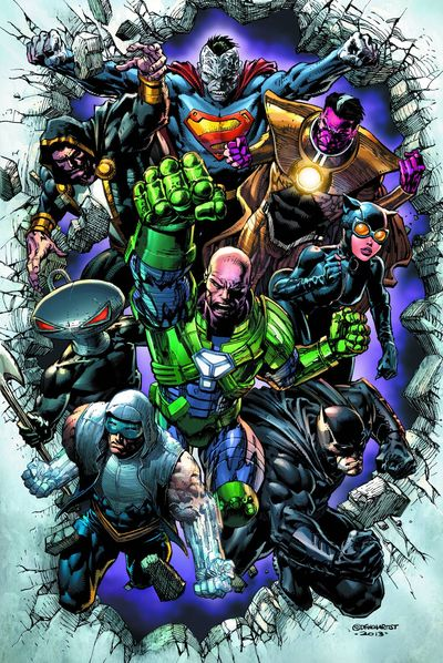Lex Luthor is definitely the Ross of this group of frienemies, AMIRIGHT? Batman is the Rachel.